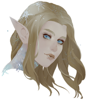 [Commission] Eladrin by paexiedust