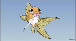 Goldfish by Almairis