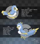 Fakemon: 25 and 26 by Almairis
