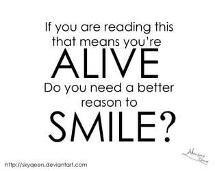 Good Reason to Smile by Almairis