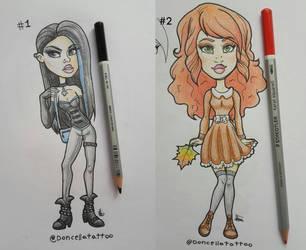 [OPEN] Fashion Girls Adoptables by Almairis