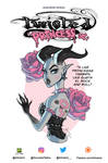 Twisted Princess Book Cover by Almairis