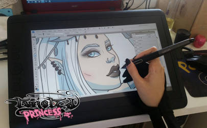 Twisted Princess Artbook is Almost Done! by Almairis