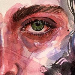 Eye detail by Kayehaan