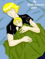 Padre e Hijo Sleeping by Elieth