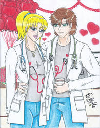 Valentine in the Hospital by Elieth