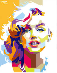 Marilyn Monroe (2) by bennadn