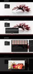design porfolio v1 by pinksov