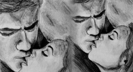the vampire diaries by pinksov