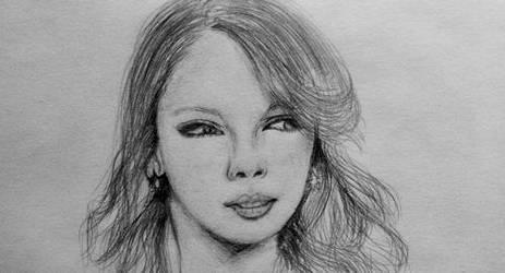 Taylor swift by pinksov