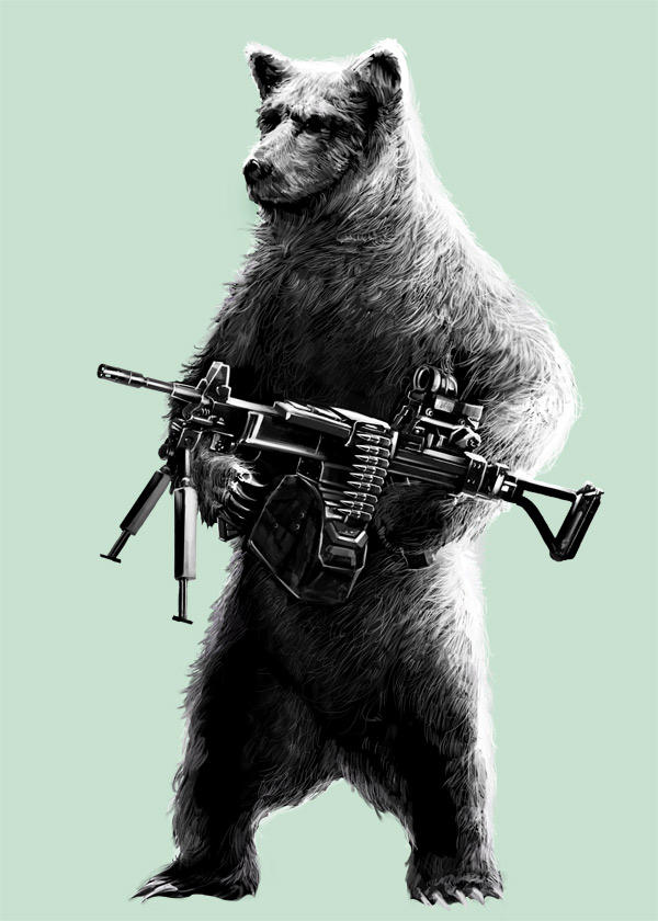 Allison's Bear by narm