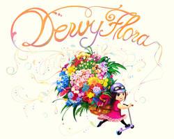 Commission, Dewy Flora Shop by narm