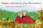 Happy Valentines day Emmaline by Pumukly
