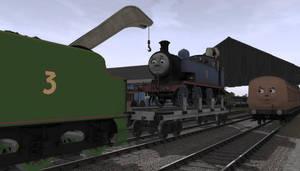 Sad Thomas by WesternShunter