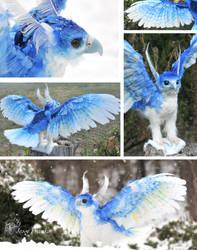 Ice Phoenix by mooki003