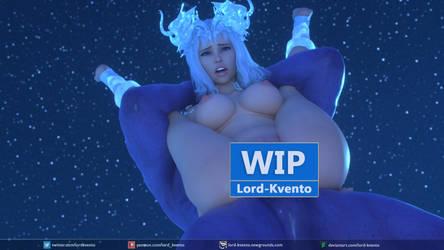 Ice Princess - WIP by lord-kvento