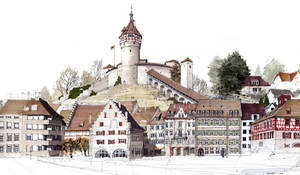 Munot Schaffhausen by tomschmid