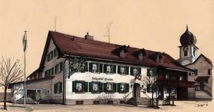Restaurant Hirschen by tomschmid