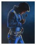 Elvis Presley circa 1972 by mcgrath800