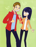 Andy And Aprilllllll by Chi-Likes-Tea
