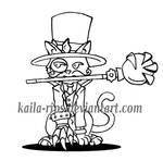 Veigar gato: Villano con Clase by Kaila-Rips