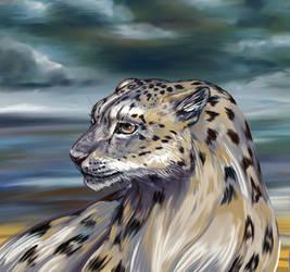 Snow Leopard by Kulik