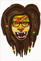 rasta lion ? by attack-jack