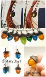 Acorn pendants by Helix-Wing
