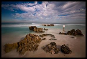 Trigg Beach - Keep out by LukeAustin
