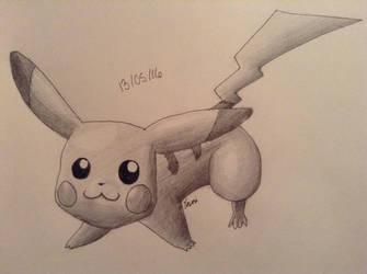 Let's go Pikachu by Jisosi