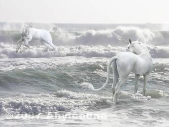 Unicorns by Ahyicodae