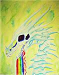 Rainbow goop Skeletor by Marl1nde