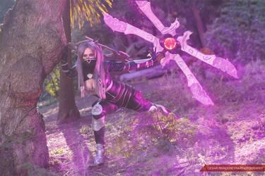 Irelia Nightblade by Anapaulajil
