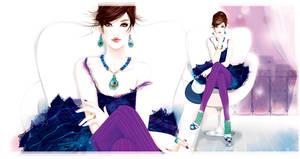 fashion illustration new by BreeLeman