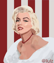 Marilyn Monroe Vector by LuLu-17
