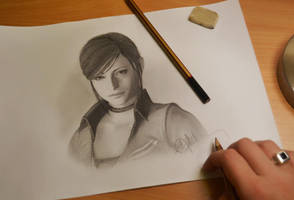 Claire Redfield by push-pulse