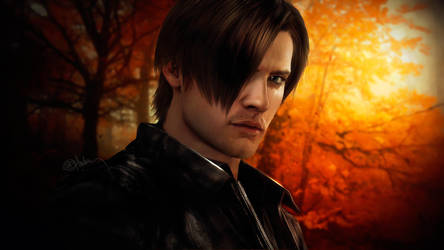 Photorealistic Leon Kennedy, RE 6 by push-pulse
