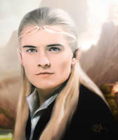 Legolas, The Lord of the Rings by push-pulse