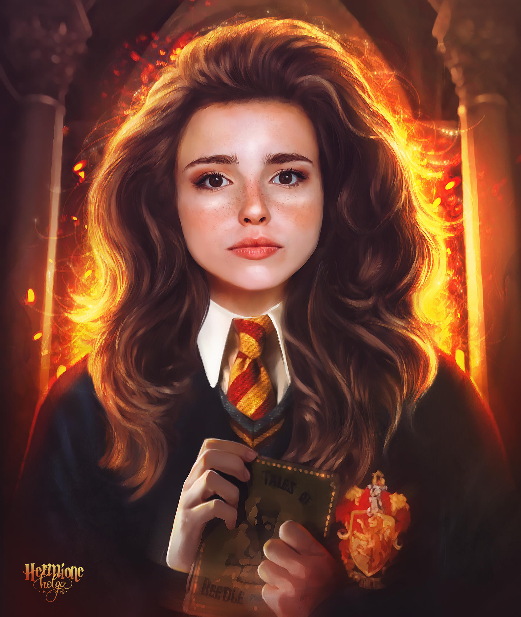 Hermione Granger by push-pulse