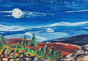 Paesaggio notturno  by Clotho5