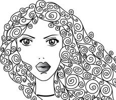 hair girella sander by sanderndreca
