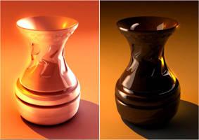 vaso creato con cinema 4d by sanderndreca