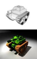 tanks by sanderndreca