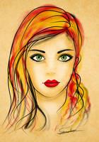 Beautiful Girl by sanderndreca