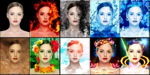 BEAUTIFUL WOMAN 9 Photomanipulation by sanderndreca