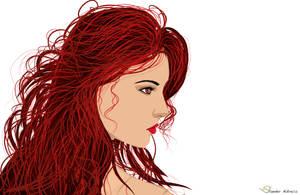 The Red Hair 1 by sanderndreca