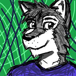 Husky face :3 by Arti-ME