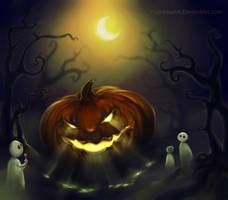 Pumpkin by PushinkaArt