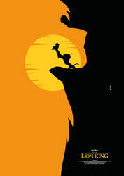 THE LION KING Poster Art by RicoJrCreation