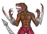 Extreme Dinosaurs: Haxx by CosbyDaf